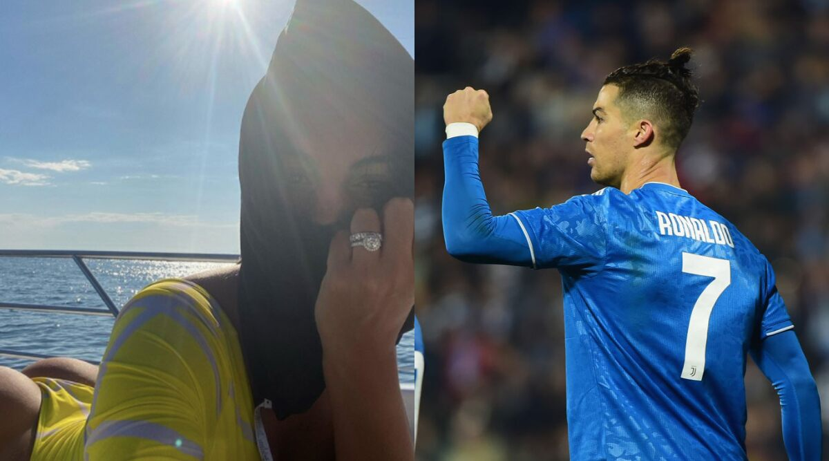 Cristiano Ronaldo Georgina Rodriguez Engaged Cr7 S Girlfriend Flashes Ring In Her Latest Instagram Post View Photo