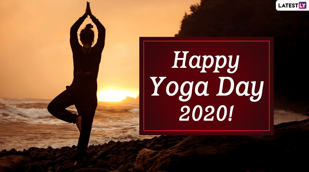 International Yoga Day 2020 Wishes Hd Images Whatsapp Stickers Happy Yoga Day Messages Facebook Greetings