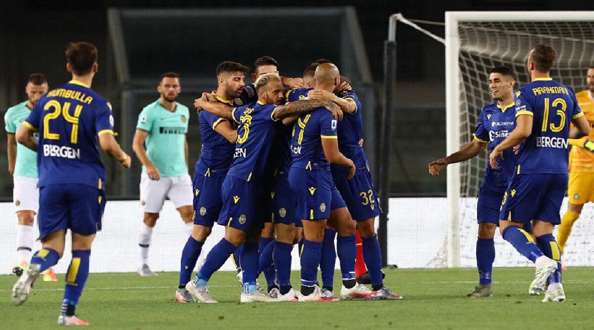 Inter Milan vs Hellas Verona 2–2, Serie A 2020-21 Match ...