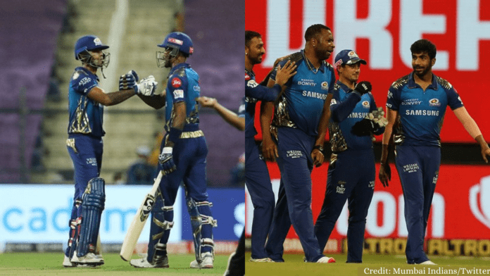 IPL 2020: Surya and Bumrah Star as MI Beat RCB by 5 Wickets and Qualify to Playoffs